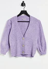 Noisy May Gilet à manches bouffantes - Lilas-Violet