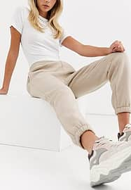 PrettyLittleThing Jogger - Taupe-Neutral