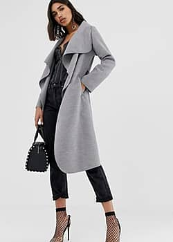PrettyLittleThing Manteau over