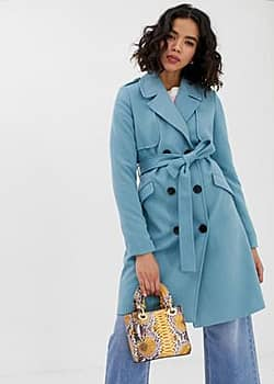 Vero Moda Trench-coat-Bleu