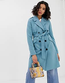 Trench-coat - Bleu