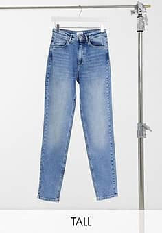 Only Veneda - Jean mom - Bleu