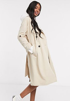 Pimkie Trench-coat long - Beige-Rose